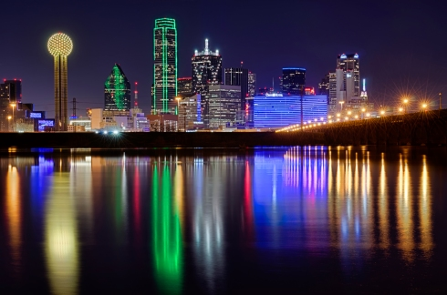 dallas-LED-Lighted-Skyline