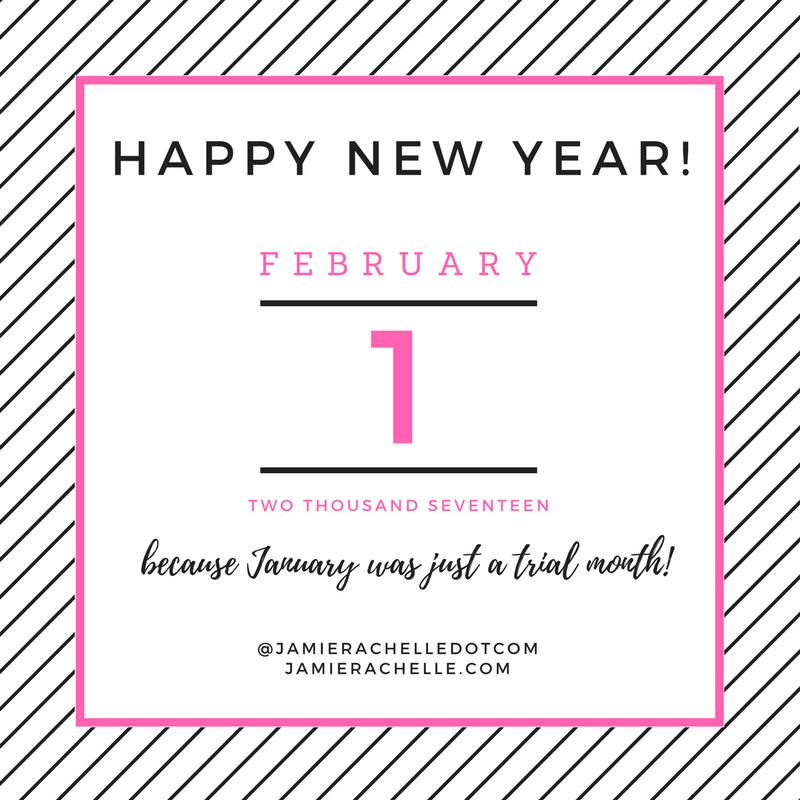 Happy Belated New Year – Jamie Rachelle .com